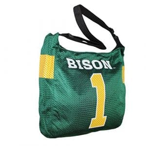 COLLECTIONNEUR ITEM: NCAA North Dakota State Bison Jersey Large Tote / Umhängetasche – grün