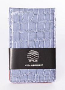 Dimples, Top Tendance Score Cartes Support en couleurs frais, graublauer Score Card Holder by Dimples (Bleu)