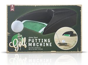 Retour de putt de golf Putting machine – à piles