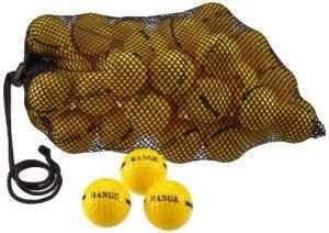 Second Chance Sac de balles de golf Jaune jaune 100