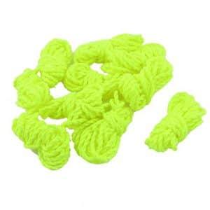 sourcingmap Roulement 10 Remplacement chaîne corde cordon 1M jaune YoYo Balle