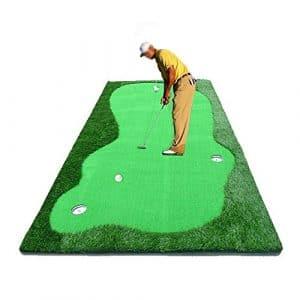 TT Couverture de pratique de bureau de pratique de golf de tapis de pratique de golf de putt de golf d'intérieur 150 * 300cm