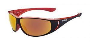 Bollé Highwood Lunettes de soleil Shiny Black/Red Taille L