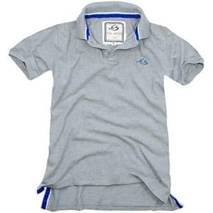 Cox Swain Vintage Polo Shirt T-Shirt, Colour: Grey, Size: S
