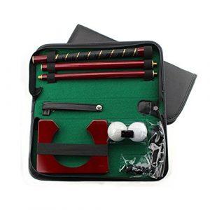Generic…. Golf Pract kit Putter de golf Ter Pratiquer Ensemble totale kit de golf en bois UB Putter K Executive de voyage Intérieur L Indo Club Putter Tive