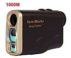 Hunting Télémètre laserworks abd004ylw100m5620pro Télémètre laser 1000m for Hunting and Golf, Fog Measurement, Waterproof