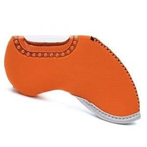 Kingken Dix ordinateurs dédiés Housse en nylon de golf Orange de golf fer Tête couvertures Coques de protection