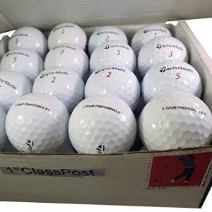 presque NEUF TaylorMade Tour Preferred X Pearl/Grade A Balles de golf