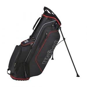 Wilson Golf WGB3307GY Sac de Golf Homme, Gris/Rouge, Taille Unique