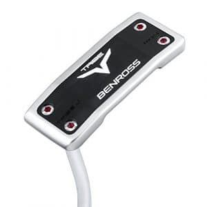 Benross Tribe Mdj4Large Profil Lame Putter de golf 86,4cm Longueur Tige avec Lamkin évier 27,9cm RND prise en main pour droitier