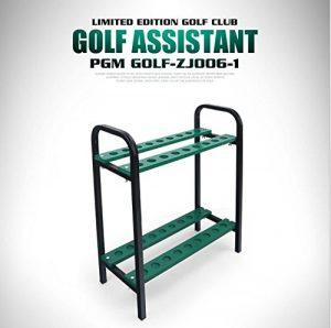 Crestgolf organiseurs Club de golf Club de golf écran étagère —– Nouveau Motif Vert, EN MÉTAL