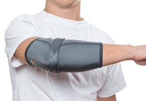Flexxline Triceps Support with Elbow Compression Sleeve, X-Large