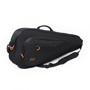 Gigavibe Sac de Tennis Premium en noir (Black/Orange)