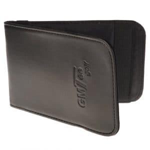 GMTee Golf cuir avec porte-carte de Score