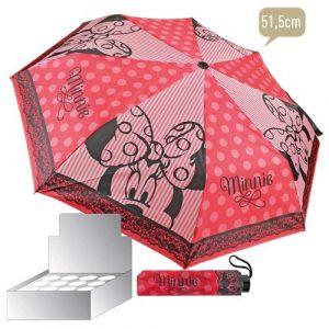 Parapluie pliable MINNIE 8rayons de cm. 49,50–131