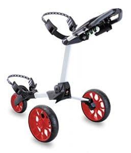 Stewart Golf Chariot de golf R1-s N/A White/Red Wheels