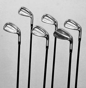 WalkGolf forsar 2700Forged Fer moi/harmonised Set, Monsieur Clubs de Golf qualité–pour les golfeurs Golf ou de microphones handicaps 0à 18pour droitier