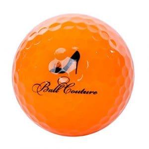 Boule de couture à la mode Balles de golf pour femme, 1Douzaine, Orange – High Heel