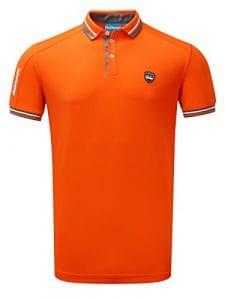 Bunker Cmax Événements Golf T-Shirt–Orange, 1236313505, Orange, XL