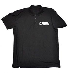 Cache-col multifonctions de travail–Crew Premium Polo pour Homme Femme–S M L XL 2x L 3x l