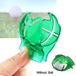 hengbaixin Ligne de balle de golf Clip marqueur Modèle Outil de marques d'alignement Putting