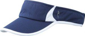 MYRTLE BEACH Running Pare-soleil Uni Taille unique Bleu marine/blanc