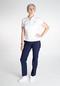 Camille Micro Pantalon stretch Femme, Blueberry (6803)