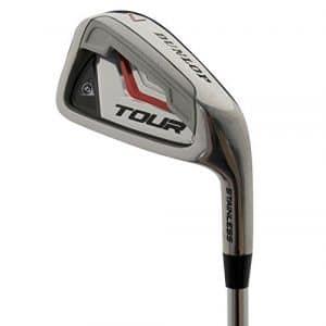 Dunlop Tour Golf Fer – Right, Argent – Argent, argent, Eisen 8