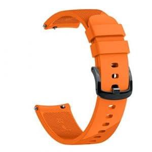 Igemy sains souple silicone Montre bracelet Bracelet Band Accessoire pour huami amazfit Bip Youth Edition, Orange, 201mm/7.91inches