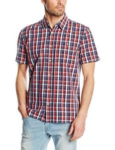 Oxbow Cantrum Chemise Homme Marine FR : M (Taille Fabricant : M)