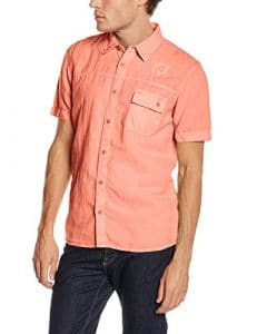 Oxbow Coping Chemise Homme Pêche FR : M (Taille Fabricant : M)