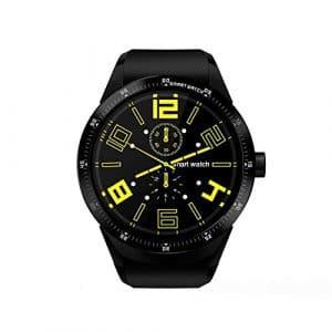Smartwatch Bluetooth Montre de Sport Intelligente Montre,Podomètre avec Moniteur de Sommeil/Step Tracker/Compteur de Calories Montre Connectée pour Android et iOS Smartphone