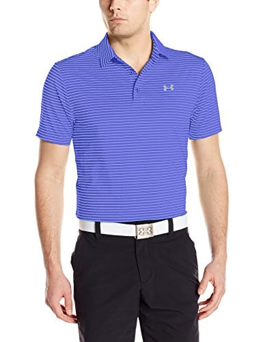 Under Armour Polo Playoff pour homme L Purple Chic/Steel