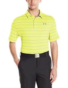 Under Armour Polo Playoff pour homme M Sulfur/Overcast Gray