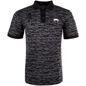 Venum Laser Polo Homme, Camouflage Sombre, FR : L (Taille Fabricant : L)