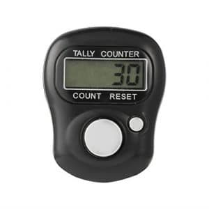 Vvciic Mini 5 Chiffres LCD ¨¦lectronique num¨¦Rique Doigt Main Held Anneau Tally Counter