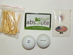 48 Nike Mix Grade A avec Tee's gratuit et Magnetic American Flag Marker / Boule de golf (valeur au d¨¦tail: 6,99 $)