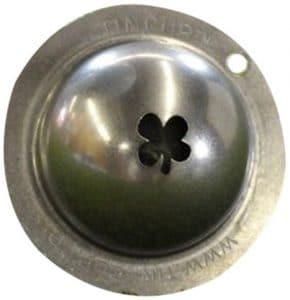 Boîte Cup Marqueur balle de Golf Custom Alignment Tool, Homme Mixte, acier