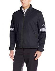 Callaway Golf Performance Full Zip Veste imperméable pour homme Taille XXXL Black (002)