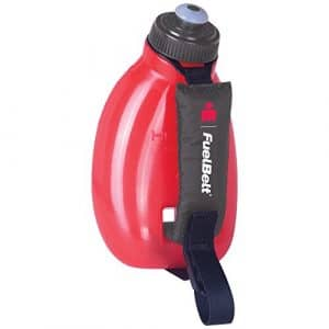 FueltBelt Ironman Helium Sprint Palm Support d'hydratation Accessoire, Noir/Rouge, Taille Unique