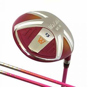 Japon Wazaki Wl-iis Lady MX EN ACIER Bois de parcours rangées PGA Golf Club + Housse cuir, Wl-iis