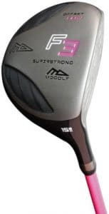 MD Golf Ss Offset Fwfairway Wood Right Hand Graphite Ladies 15 Degrees Famme Tile Blue Taille