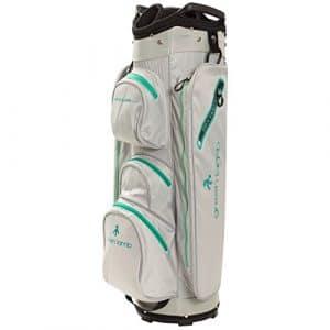 New Green Lamb Sac chariot de golf pour femme, Silver-Jade
