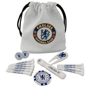 Officiel Chelsea FC Sac fourre-tout Coffret cadeau de golf