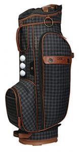 Ogio Lady Majestic Sac chariot de golf OS cuir marron