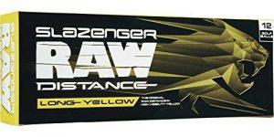 Slazenger 2017Raw Distance Balles de golf (lot de 12), Long Yellow