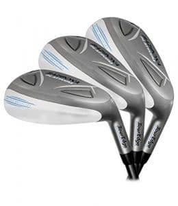 Tour Edge Golf- hybride pour femme Bazooka Platinum tous les Fers, femme, Ladies FLex – 4-PW