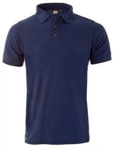 Twentyfour motion t-shirt polo Bleu marine SMALL