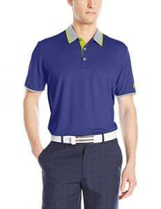 adidas Golf pour homme Climacool Performance pour homme moyen Dark Blue/Mid Grey/Vivid Yellow