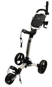 Axglo Axtrilite Chariot de Golf Mixte Adulte, Gris/Noir